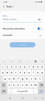 Como configurar uma rede Wi-Fi - Samsung Galaxy S21 Ultra 5G - Passo 7