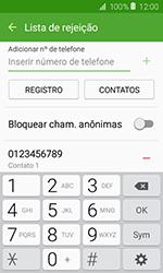 Como bloquear chamadas de um número específico - Samsung Galaxy J1 - Passo 11
