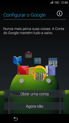Como configurar pela primeira vez - Sony Xperia E4G - Passo 8