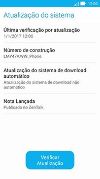 Como atualizar o software do seu aparelho - Asus ZenFone Go - Passo 6