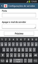 Como configurar seu celular para receber e enviar e-mails - Samsung Galaxy Grand Neo - Passo 12