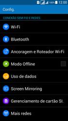Como configurar uma rede Wi-Fi - Samsung Galaxy Grand Prime - Passo 3