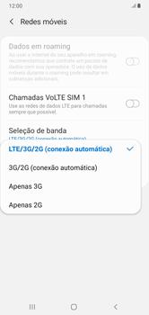 Como melhorar a velocidade da internet móvel - Samsung Galaxy A10 - Passo 7