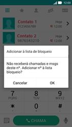 Como bloquear chamadas de um número específico - Asus ZenFone 2 - Passo 6