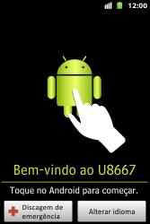 Como ativar seu aparelho - Huawei U8667 - Passo 3