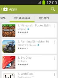 Como baixar aplicativos - Samsung Galaxy Pocket - Passo 7
