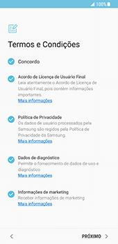 Como ativar seu aparelho - Samsung Galaxy S8 - Passo 6