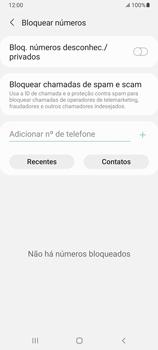 Como bloquear chamadas de um número específico - Samsung Galaxy A32 5G - Passo 8