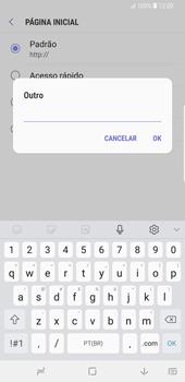 Como configurar a internet do seu aparelho (APN) - Samsung Galaxy S9 Plus - Passo 25