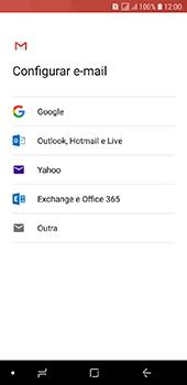 Como configurar seu celular para receber e enviar e-mails - Samsung Galaxy J6 - Passo 8