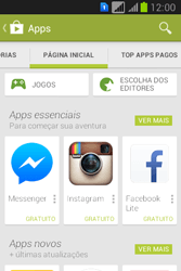 Como baixar aplicativos - Samsung Galaxy Young - Passo 5