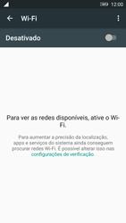 Como configurar uma rede Wi-Fi - Lenovo Vibe K6 - Passo 4