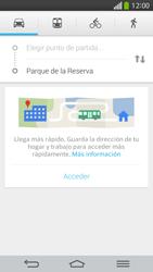 Uso de la navegación GPS - LG G Flex - Passo 11