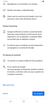 Crea una cuenta - Samsung Galaxy A80 - Passo 13
