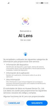Cómo obtener informaciones con AI Lens - Huawei P40 Lite - Passo 6