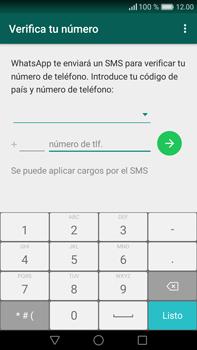 Configuración de Whatsapp - Huawei Mate 8 - Passo 6