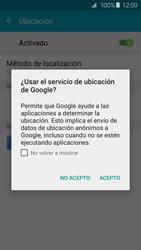 Uso de la navegación GPS - Samsung Galaxy S6 - G920 - Passo 20