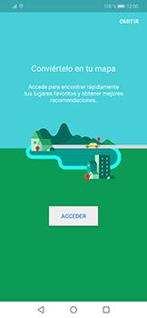 Uso de la navegación GPS - Huawei Mate 20 Lite - Passo 4