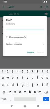 Configura el WiFi - Motorola One Zoom - Passo 8