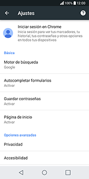 Configura el Internet - LG Q6 - Passo 23