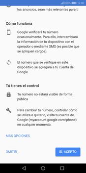 Crea una cuenta - Huawei Y7 (2018) - Passo 13