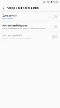Configura el hotspot móvil - Samsung Galaxy A7 2017 - A720 - Passo 6