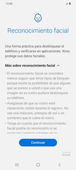 Cómo configurar el Face ID - Samsung Galaxy S20 - Passo 6