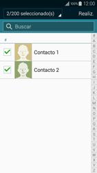 ¿Tu equipo puede copiar contactos a la SIM card? - Samsung Galaxy A3 - A300M - Passo 11