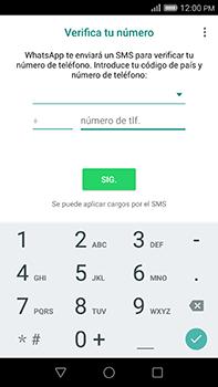 Configuración de Whatsapp - Huawei G8 Rio - Passo 5