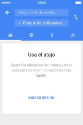 Uso de la navegación GPS - Apple iPhone 4s - Passo 14