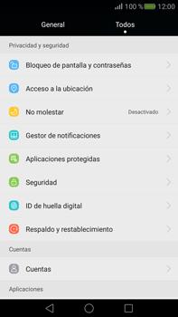 Desbloqueo del equipo por medio del patrón - Huawei Mate S - Passo 3