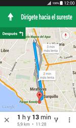 Uso de la navegación GPS - Samsung Galaxy Core Prime - G360 - Passo 22