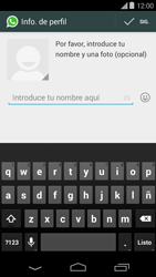 Configuración de Whatsapp - Motorola Moto E (1st Gen) (Kitkat) - Passo 8