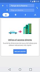 Uso de la navegación GPS - LG X Cam - Passo 14