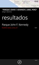 Uso de la navegación GPS - Nokia Lumia 720 - Passo 16