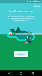 Uso de la navegación GPS - Sony Xperia XZ Premium - Passo 5