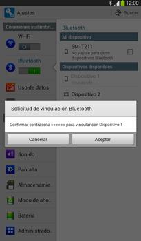 Conecta con otro dispositivo Bluetooth - Samsung Galaxy Tab 3 7.0 - Passo 7