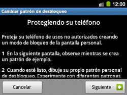 Desbloqueo del equipo por medio del patrón - Samsung Galaxy Y Pro GT - B5510 - Passo 7