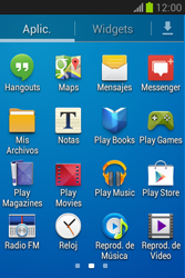 Envía fotos, videos y audio por mensaje de texto - Samsung Galaxy Fame Lite - S6790 - Passo 2
