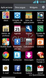 ¿Tu equipo puede copiar contactos a la SIM card? - LG Optimus L5 II - Passo 3