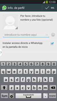 Configuración de Whatsapp - Samsung Galaxy Note Neo III - N7505 - Passo 8