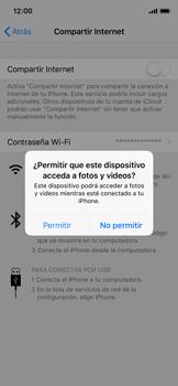 Comparte la conexión de datos con una PC - Apple iPhone XS - Passo 5