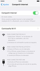 Comparte la conexión de datos con una PC - Apple iPhone 6 - Passo 5
