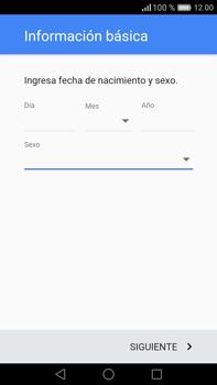 Crea una cuenta - Huawei Mate 8 - Passo 10
