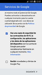 Crea una cuenta - Samsung Galaxy J3 - J320 - Passo 16