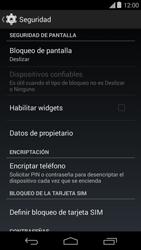 Desbloqueo del equipo por medio del patrón - Motorola Moto E (1st Gen) (Kitkat) - Passo 5