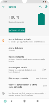 Modo de ahorro de batería - Motorola Moto G8 Plus (Dual SIM) - Passo 7