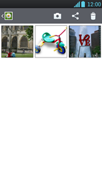 Transferir fotos vía Bluetooth - LG Optimus L7 - Passo 5