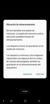 Opciones de la cámara - Samsung Galaxy S9 Plus - Passo 4
