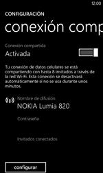 Configura el hotspot móvil - Nokia Lumia 820 - Passo 8